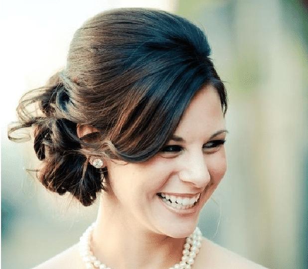 de peinados para novias gorditas