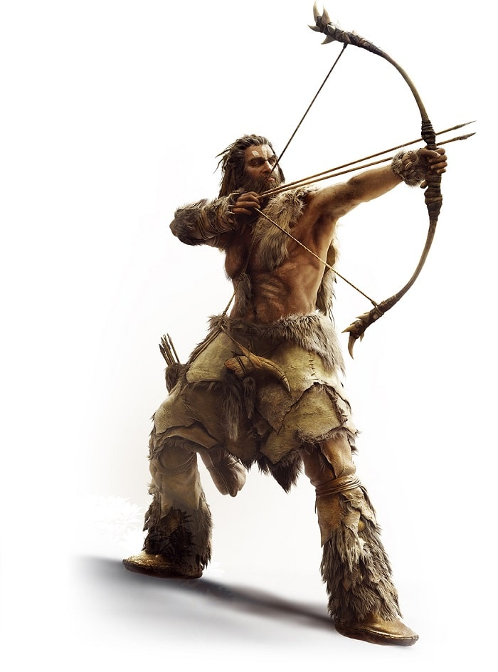 arco y flcha herramientas de la prehistoria