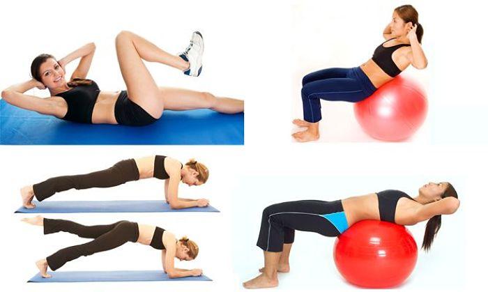 rutina de ejercicios para el abdomen
