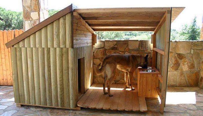 Como hacer una casa para perros te lo explicamos paso a paso - Construir caseta de madera ...