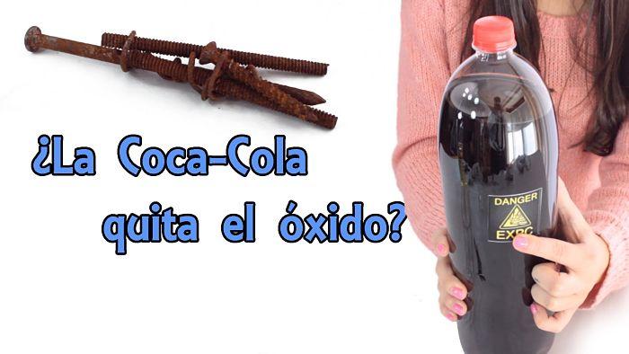 Como quitar el oxido con 18 m todos sencillos - Quitar oxido coca cola ...