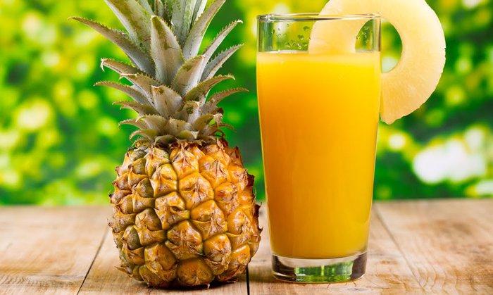 piña para la dieta de la fruta