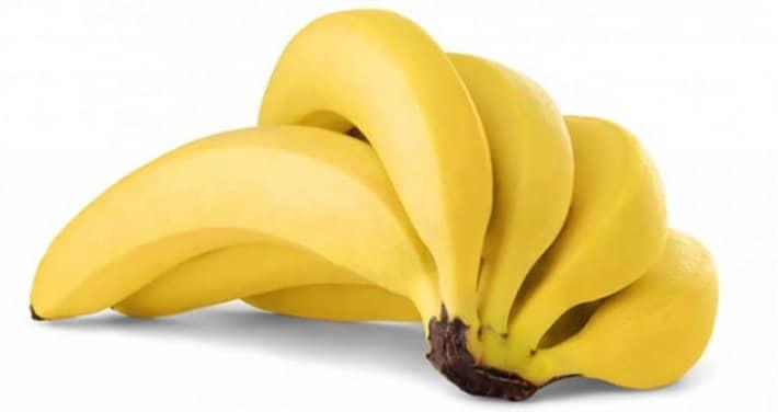 cambur para la dieta de la fruta