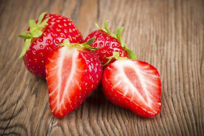fresa para la dieta de la fruta