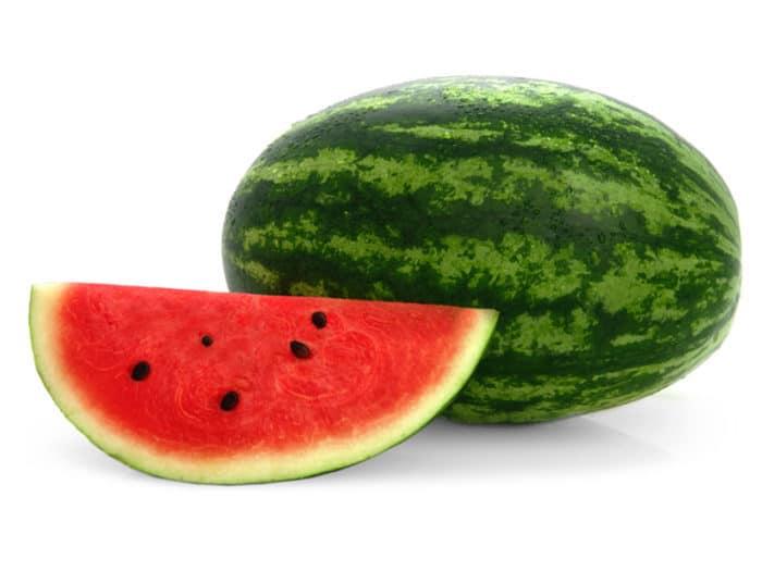 patilla para la dieta de la fruta