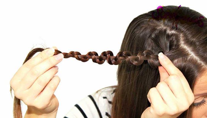 peinados caseros para fiestas