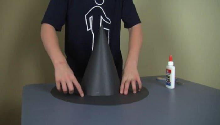 un sombrero para brujas