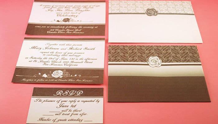 Pasos para crear invitaciones de boda usa tu ingenio al - Como hacer tarjetas de boda ...