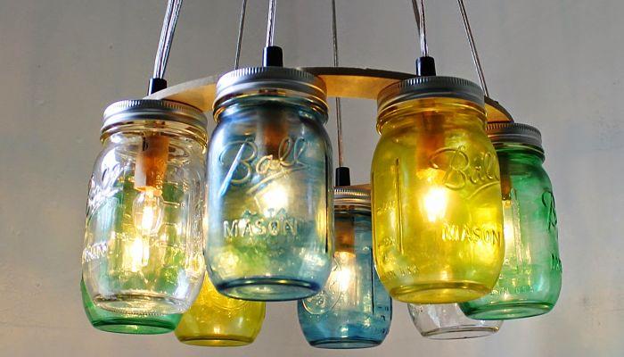 Tarros de cristal decorados