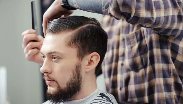 cortar el pelo a un chico