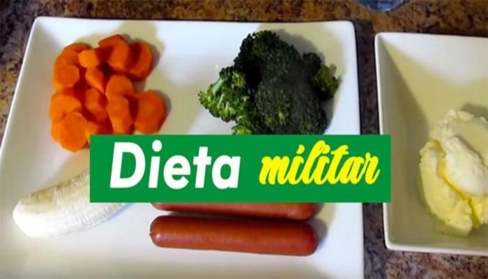 Conoces La Dieta Militar, Solo Tres Días de Esfuerzo¿Como