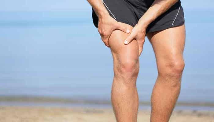 deshacerse del dolor en las piernas