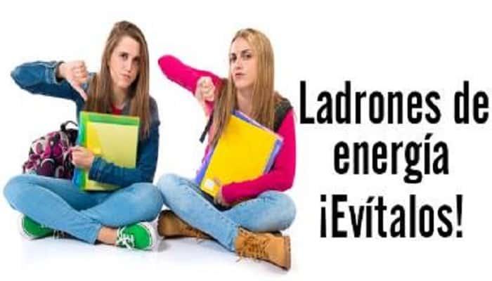 ladrones de energía