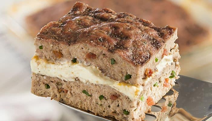 pastel con carne molida