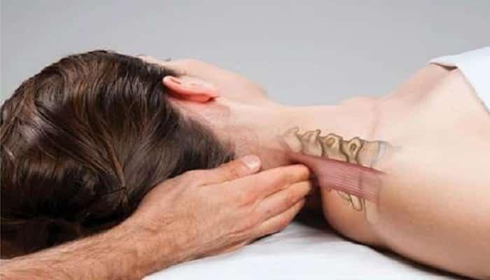 tratar un nervio atascado