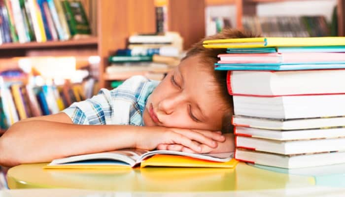 no dormir en clases