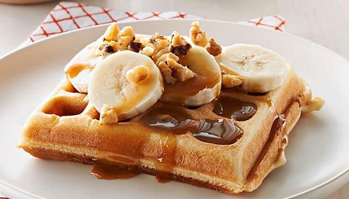 recetas de waffles