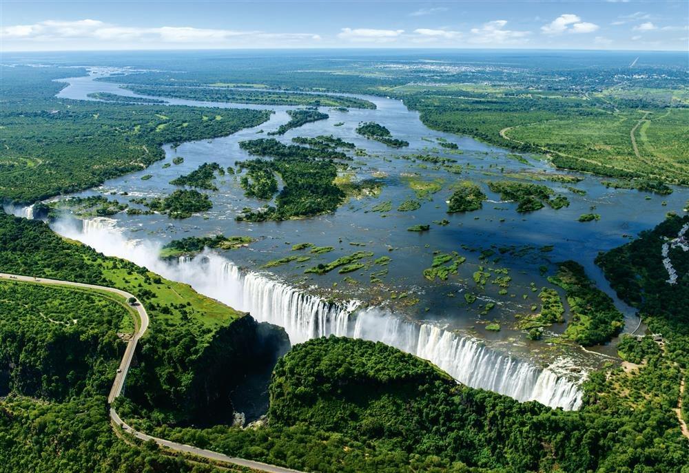 Cataratas Victoria en África